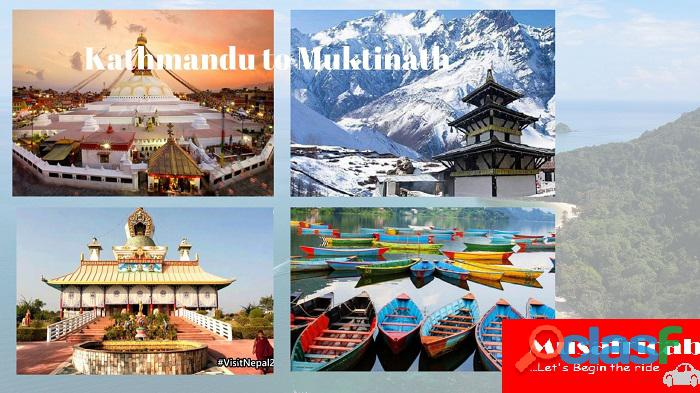 Kathmandu to muktinath tour by flight