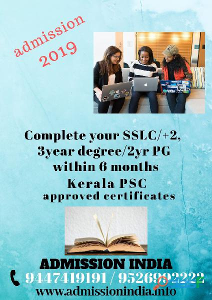 Sslc,plus two,degree or pg within 6 months 9447419191