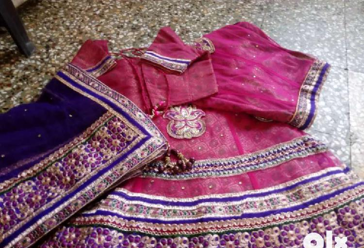 Chaniya choli in soft net