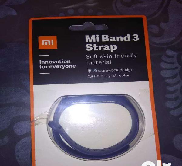 Mi band 3 strap in navy blue