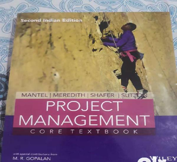 Project management core textbook by Wiley publisher second