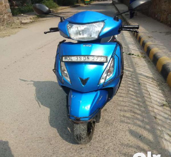 TVS Jupiter matte blue colour new condition