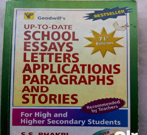 Up-to-date school essays letters applications paragraph and