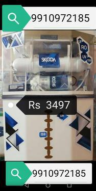 Alkaline ro water purifier lagvaye 2 sal ki warranty paye