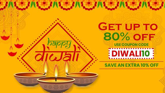 Diwali dhamaka offer discount up to 80 percentage