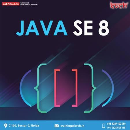 Get the best java se 8 oracle certification course in noida