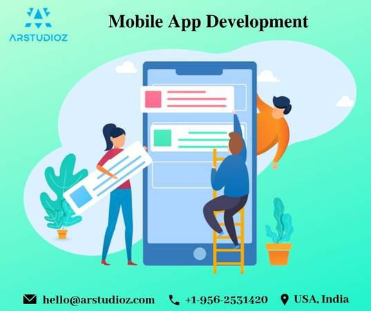 Mobile app development company | arstudioz - computer