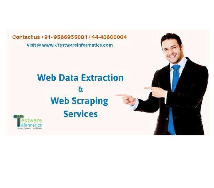 Web data extraction & web scraping services