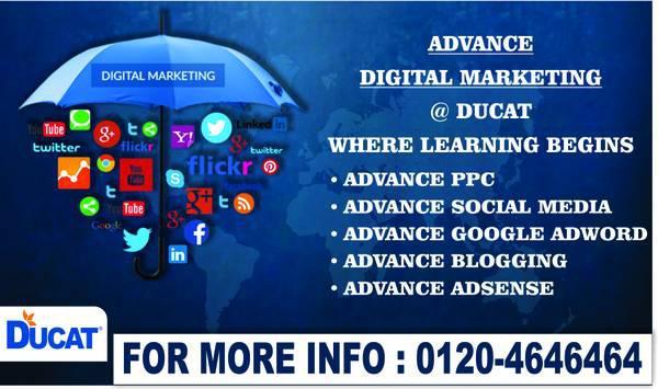 Best advance digital marketing training institute in noida -
