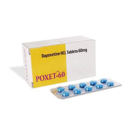 Buy poxet 60mg tablet from dose pharmacy - health and beauty