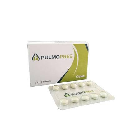 Buy pulmopres 20mg tablet from dose pharmacy - health and