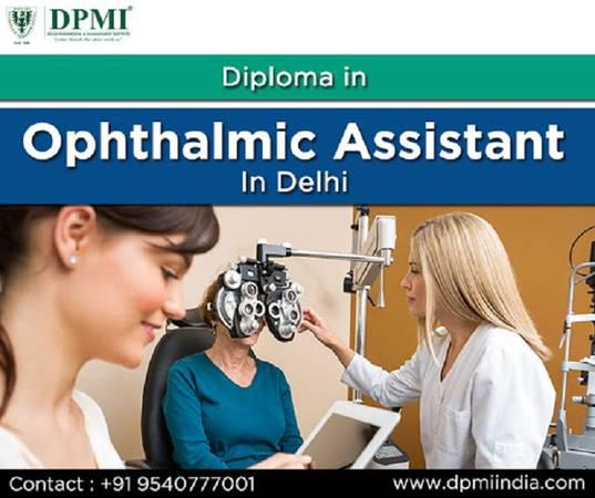Diploma in Ophthalmic Assistant (DOA) in Delhi NCR India -