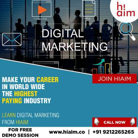 Hiaim Best Digital Marketing Institute Badarpur - lessons &