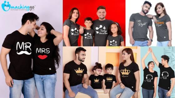 Matching Family T-Shirt | Machinggo Concept Clothing -