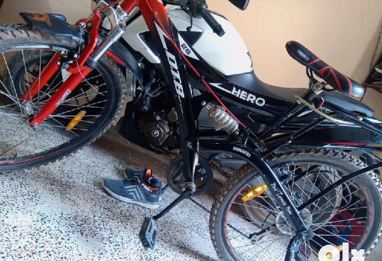 Sealing d.t.b dirt terrain bike