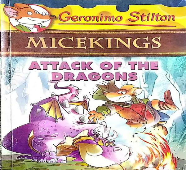 Geronimo stilton - micekings - attack of the dragons