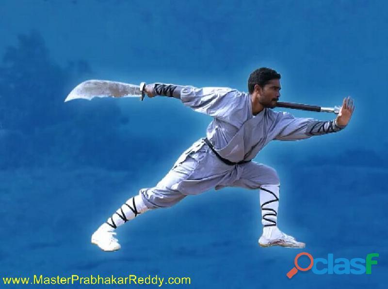 Indian shaolin temple kung fu warrior monk shifu masterprabhakar reddy