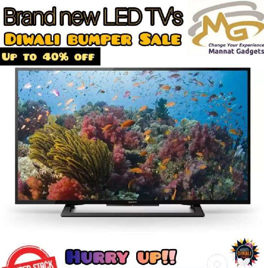 Double glass full hd led tv with on site warranty
