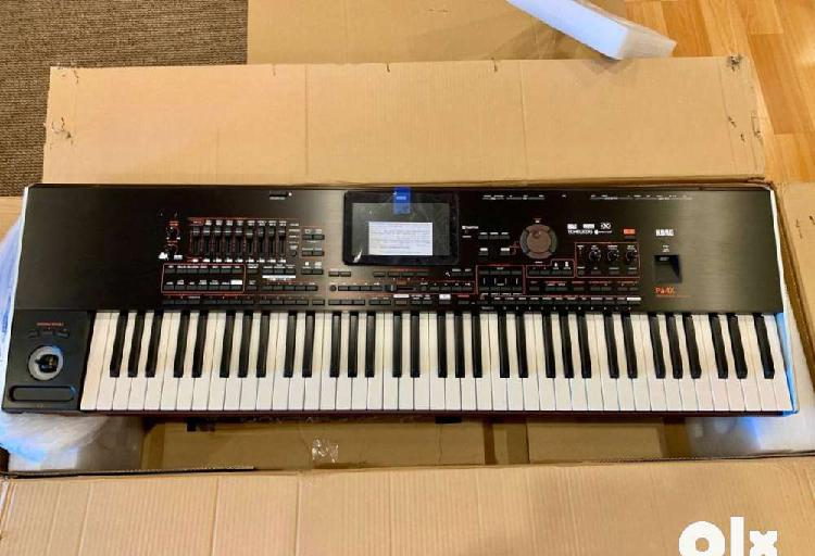 Korg pa4x 76-note professional arranger workstation keyboard