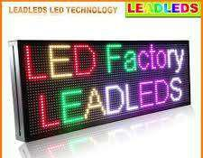 Led scrolling display