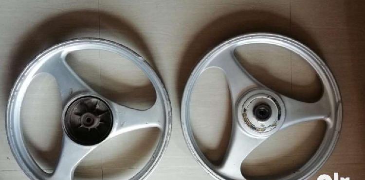 Yamaha rx boeing mac wheel