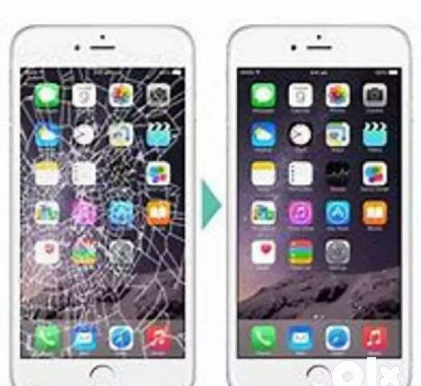 Iphone screen replacement (home services)