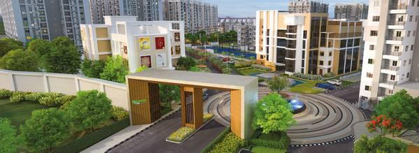 2 BHK Flats for sale in Kolkata - Greenfield City - real