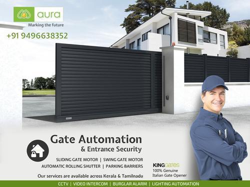 Aura automatic gate coimbatore remote gates coimbatore