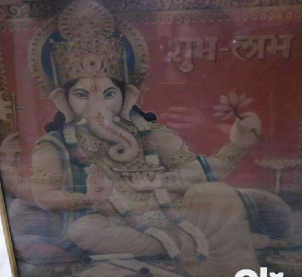 Beautiful ganpati ganesha frame in top notch condition