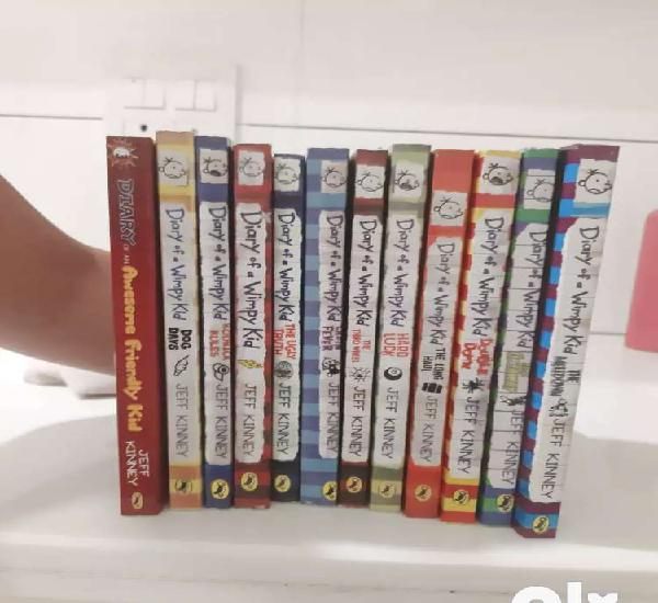Diary of a wimpy kid set of 12