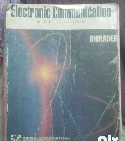 Electronic communication by shrader