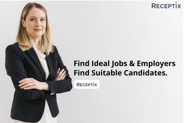 Find your dream job now | receptix -