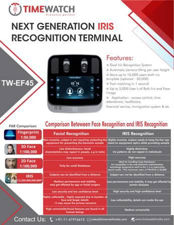 Iris Recognition System - electronics - by owner