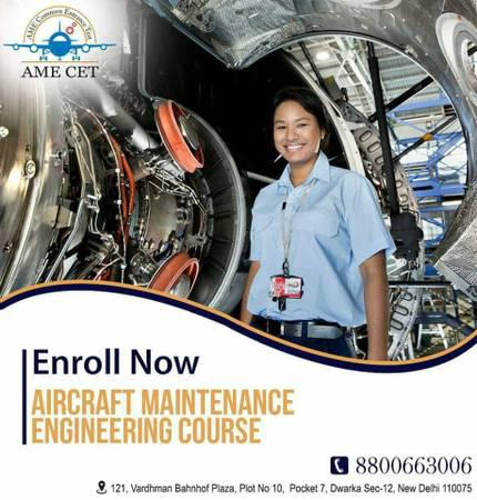 Rising Salary of Aircraft Maintenance Engineer - lessons &