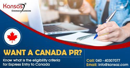 Want a Canada PR; know what is the eligibility criteria for
