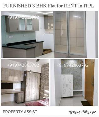 Brand new fully furnished flat near sap labs itpl