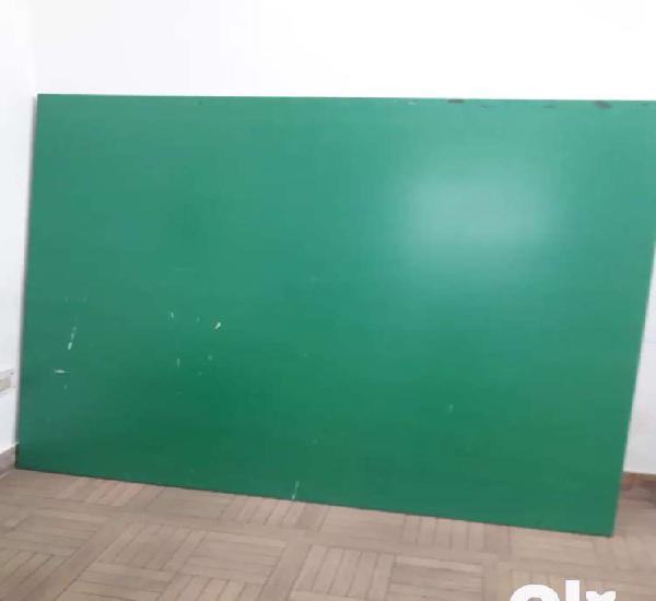 Green board for chroma key and light projectors
