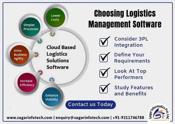 Logistics management software gst enabled - computer