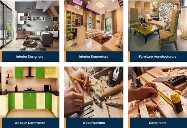 Furniture manufacturers in badli - bharat interior