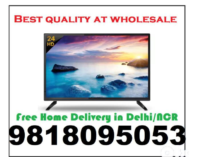 """Get 24"""" hd ready led tv at best wholesale price with 1 year"""