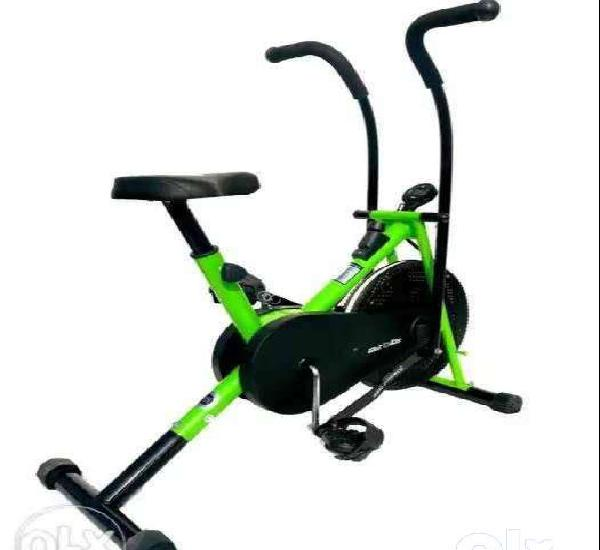 Home gym airbike cycle