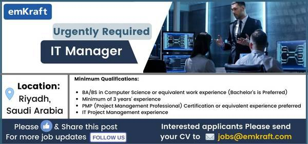 It manager - architect/engineer/cad