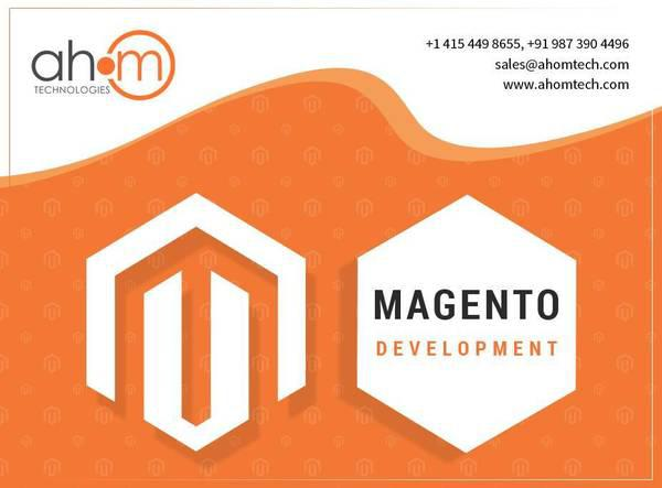 Top magento development company in india for magento