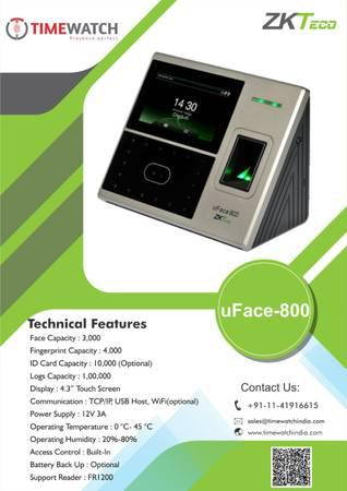 Biometric time attendance system in delhi - electronics - by