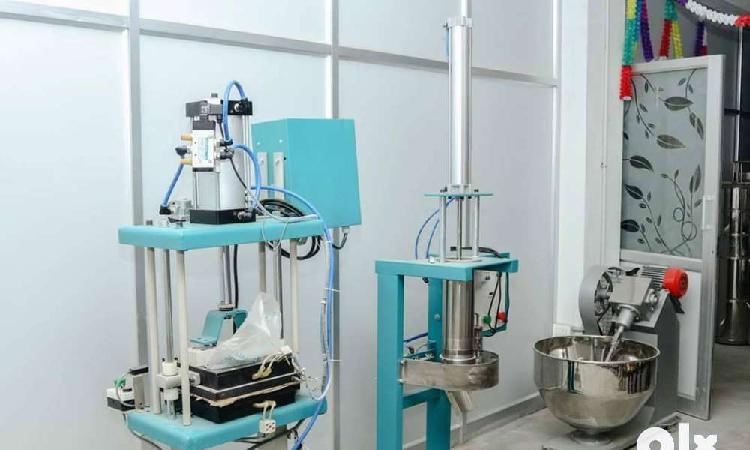 Commercial chappati maker with compressor