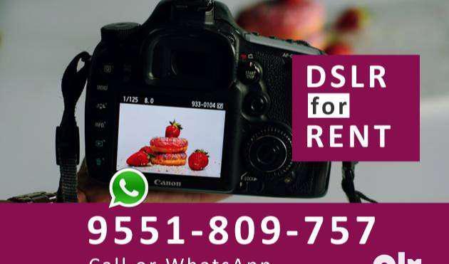 Dslr for rent in purasawalkam