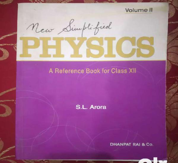 Physics s.l arora best book for 12th