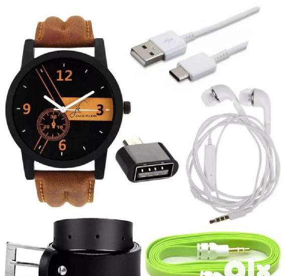 Amazing combo set with men stylish watches