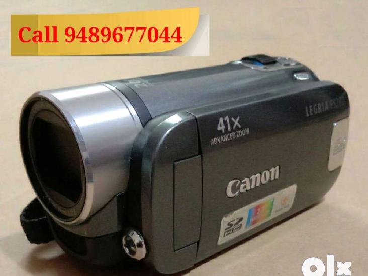 Canon LEGRIA FS200 - Camera video recorder handycam