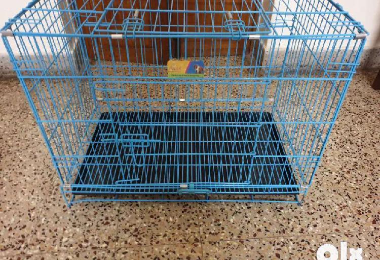 Dog metal cage (foldable)